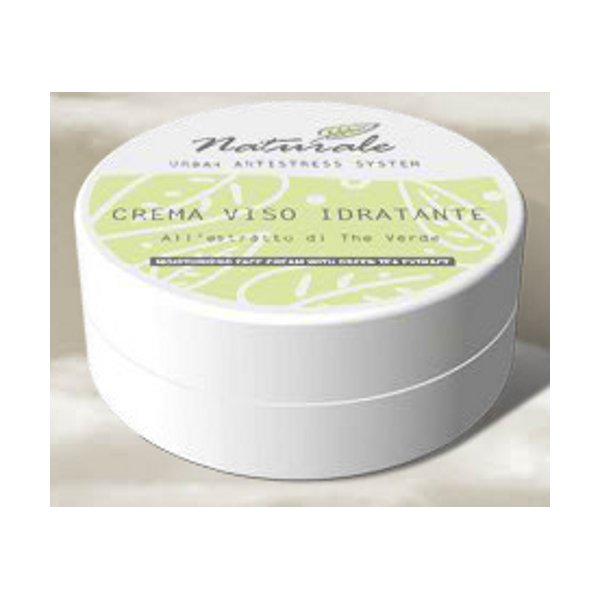Crema Viso Idratante all'Estratto di The Verde 50 ml