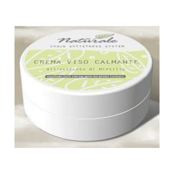 Crema Viso Calmante all'Estratto di Mirtillo 50 ml