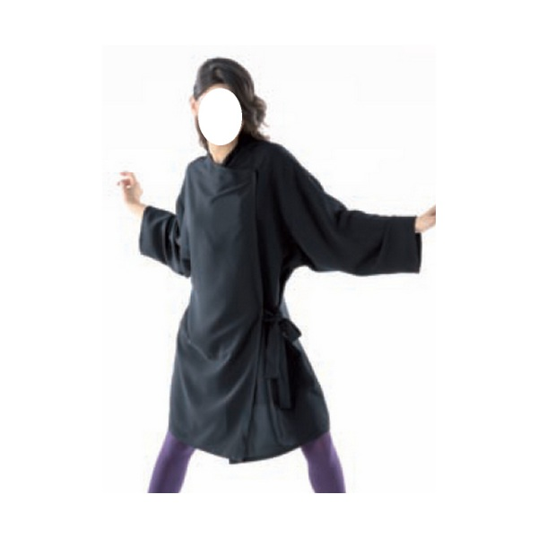 Kimono nero unisex