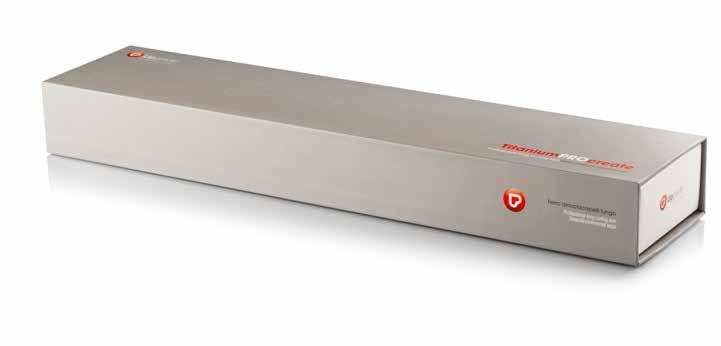 Scatola Ferro Arriccioa Capelli in Titanio TitaniumProCreate