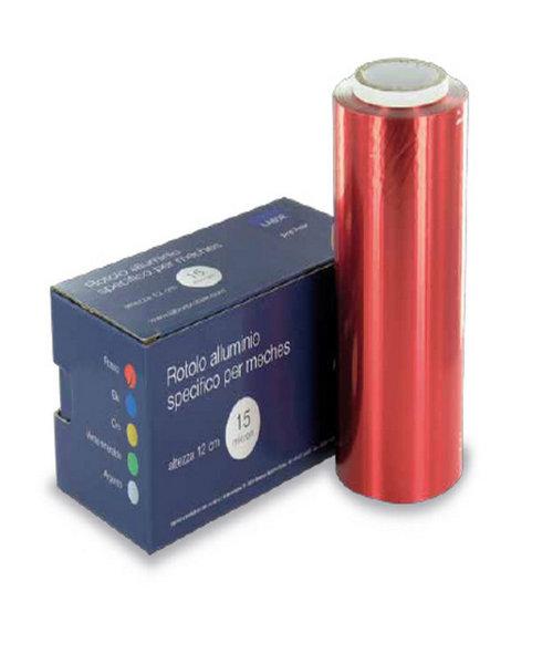 Alluminio Colorato 12 cm Rosso