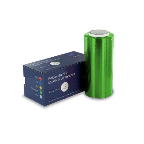 Alluminio Colorato 12 cm Verde