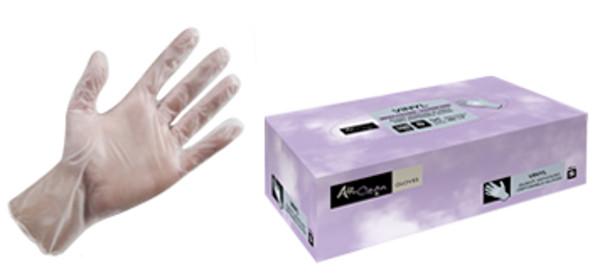 guanti monouso in vinile professionali igienici