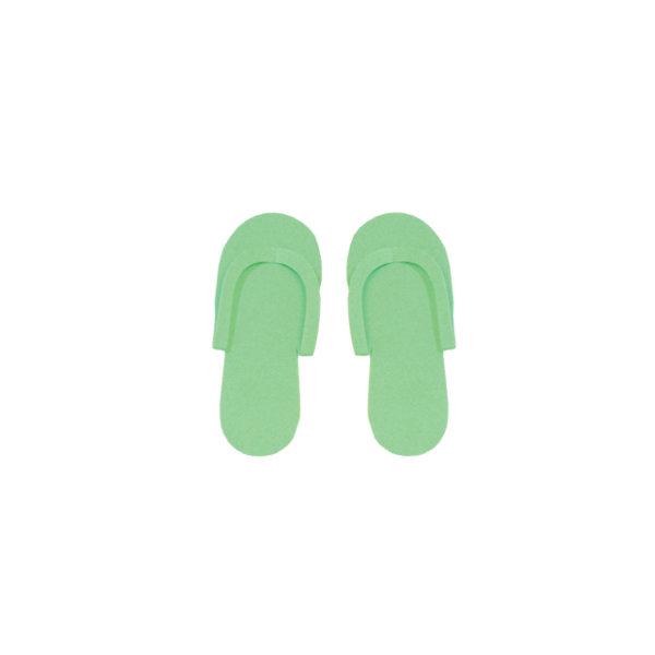 Ciabattine Materiale Espanso conf. 24 paia Verde