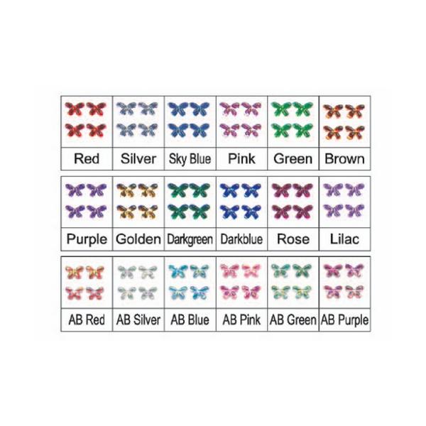 Pietre Nail Art Farfalle