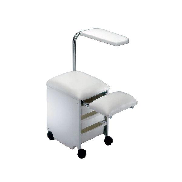 Pediservice bianco carrello pedicure 3 cassetti