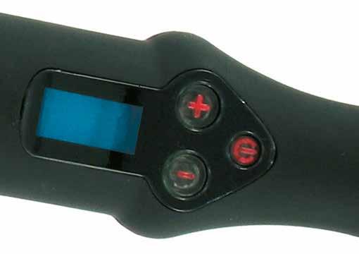 Il led Blu indica che il ferro sta scaldando