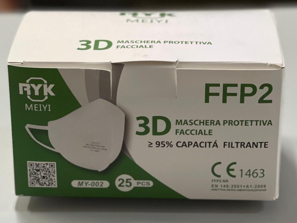 mascherine ffp2 bianche