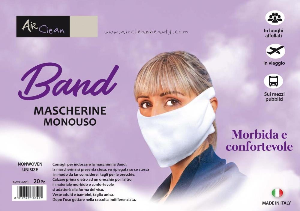 mascherina protezione viso tnt