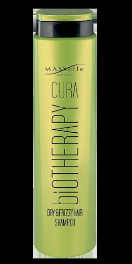 shampoo capelli secchi e crespi linea cura biotherapy maxxelle