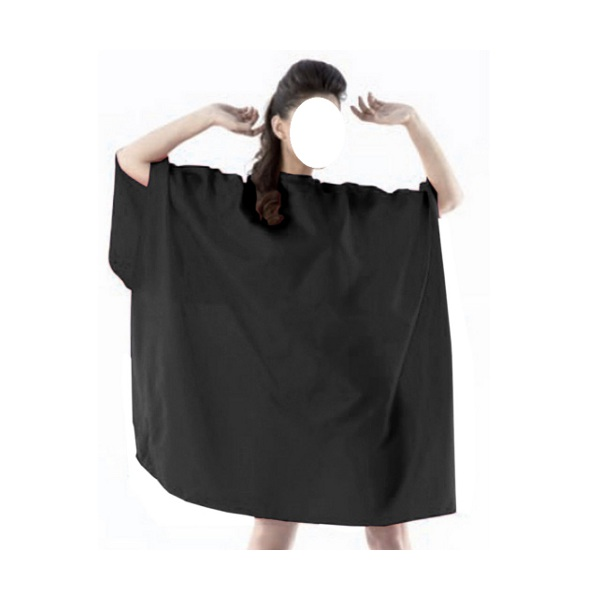 mantella da taglio nero