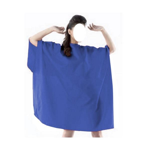mantella da taglio blu